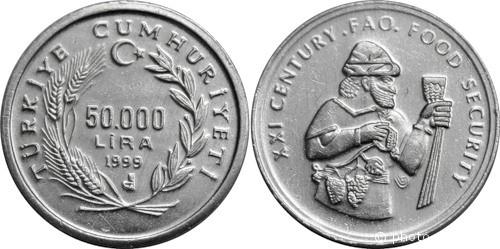 50 000 турецких лир