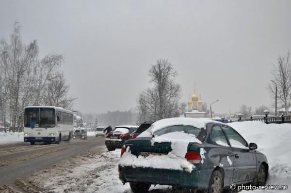 аномальный снегопад