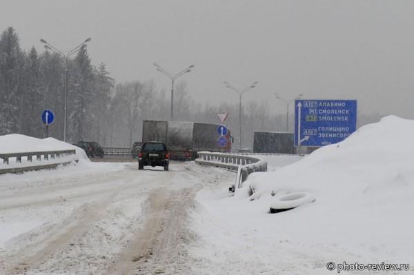 аномальный снегопад в марте