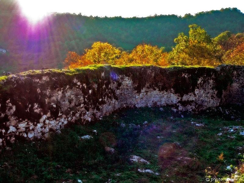 Абхазская крепость Мушба.