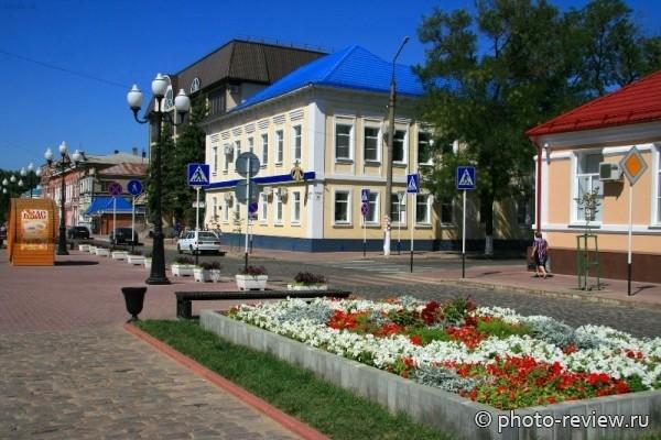 центральная улица Ейска