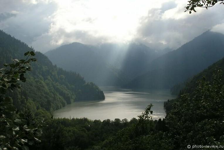 Самое красивое озеро кавказа