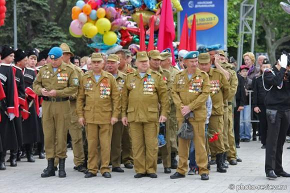 Ветераны Афганистана на 9 мая
