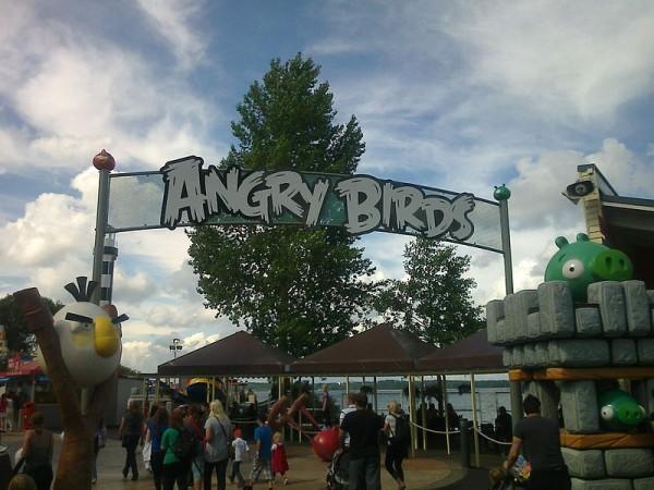 Парк Angry Birds