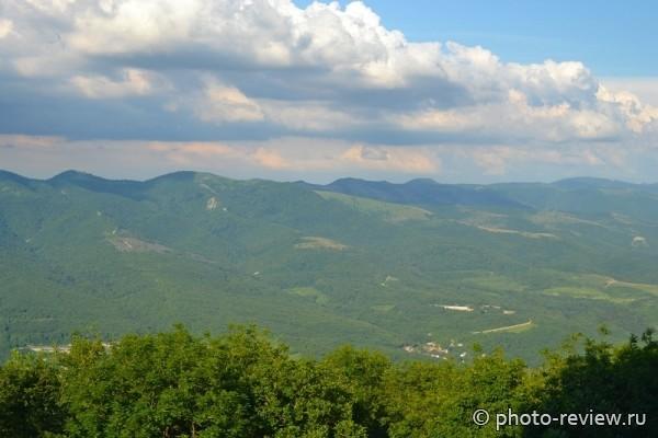 Горы в Геленджике