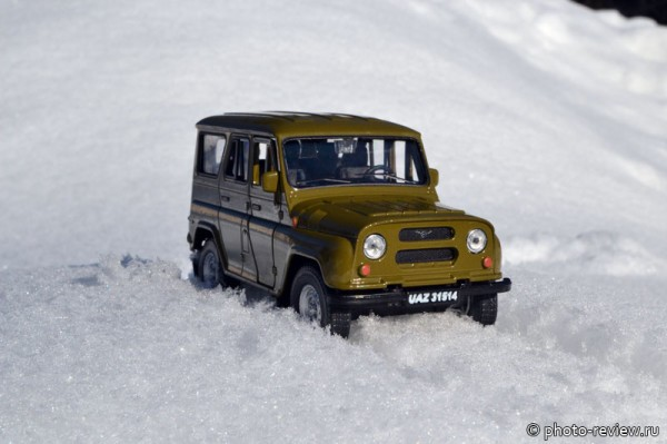 масштабная модель УАЗ