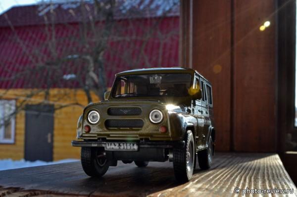 коллекционная модель УАЗ
