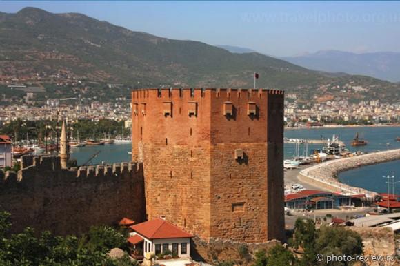 Красная башня Алания