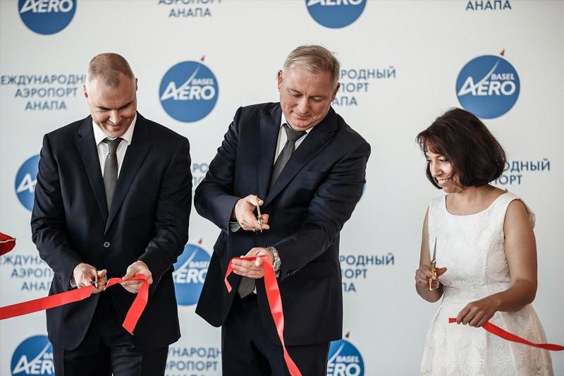 открытие нового терминала в аэропорту Анапа