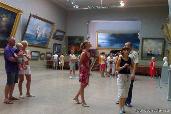 картинная галерея Айвазовского фото