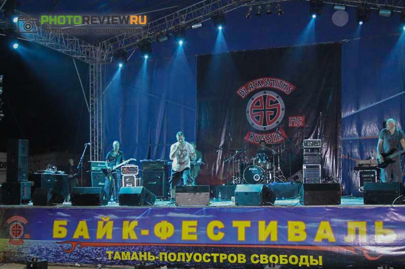 Байк-фестиваль Тамань 2017