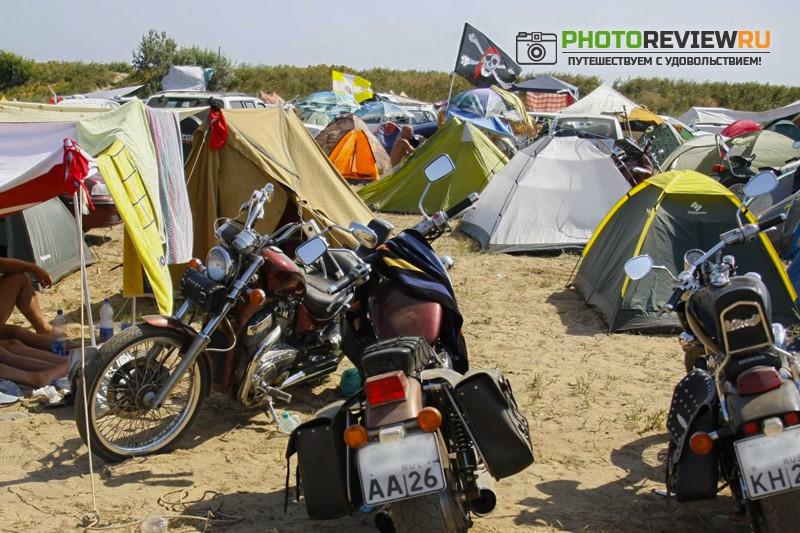 байк -фестиваль на черном море