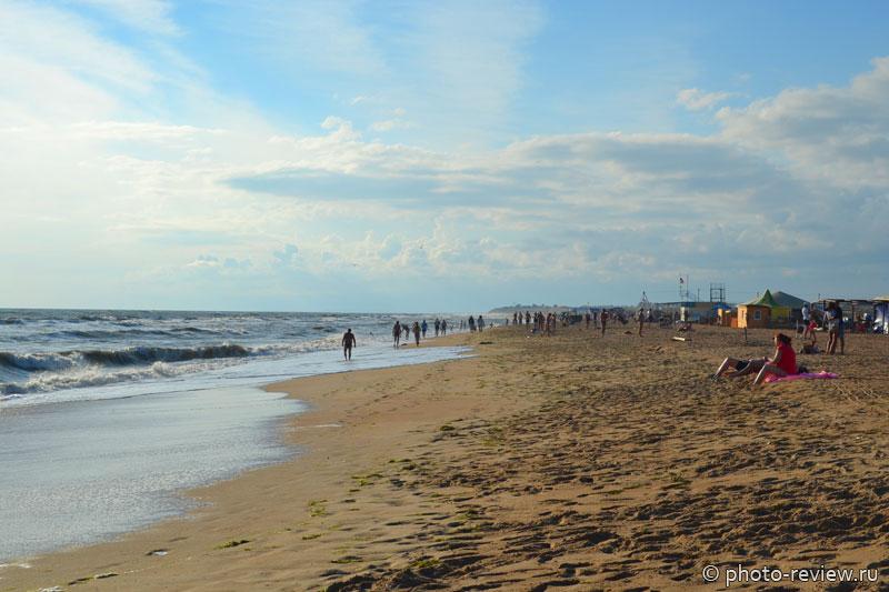 пляжи Благовещенской