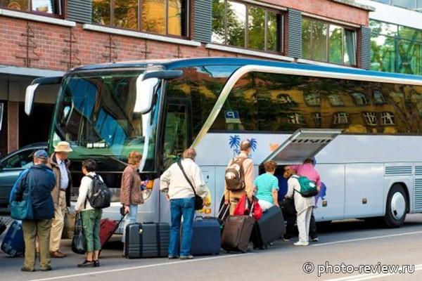 поездка на черное море на автобусе