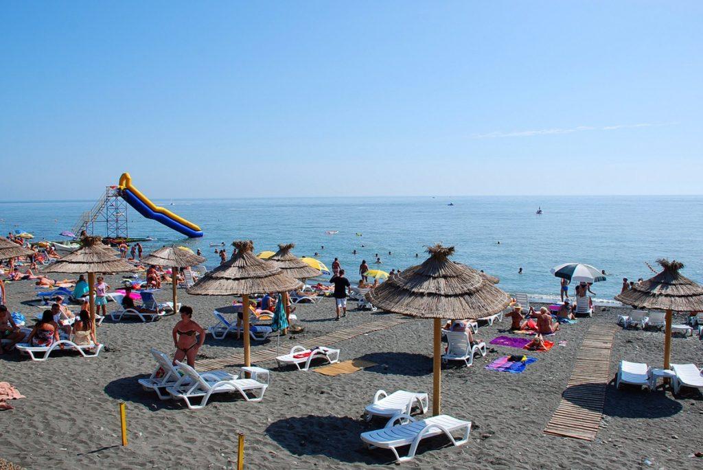Пляж Чайка в Сочи