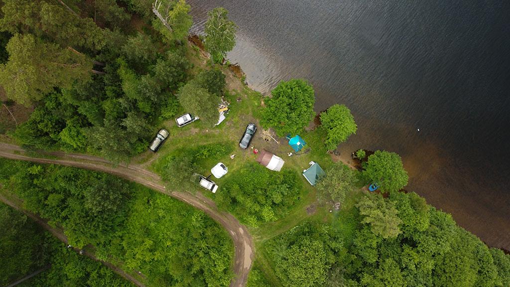 места отдыха на Десногорском водохранилище