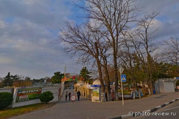 Парк аттракционов Геленджика