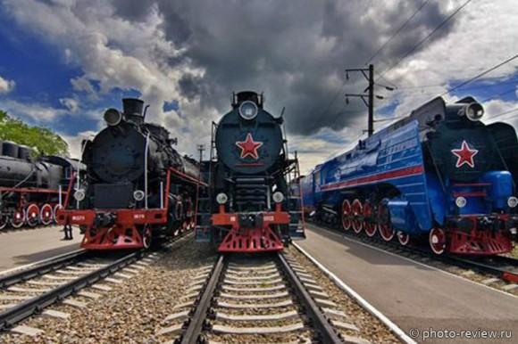 Музей железнодорожной техники в Ростове-на-Дону