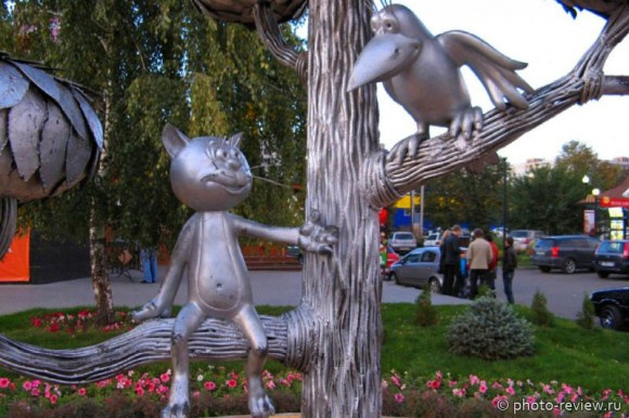 памятник котенку с улицы лизюкова в воронеже