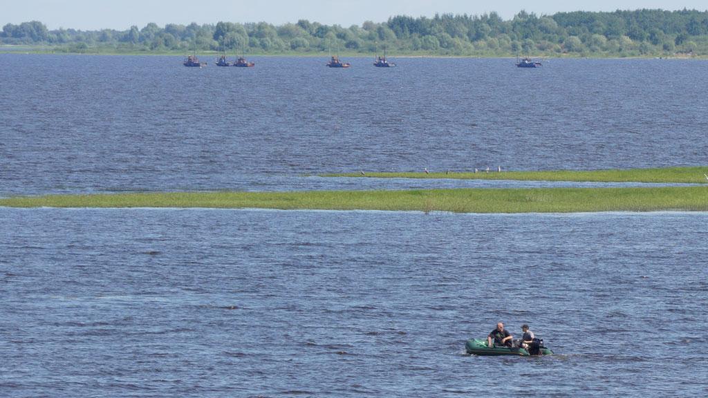 рыбалка на озере Ильмень