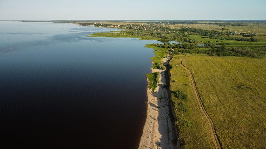 озеро Ильмень в Новгородской области