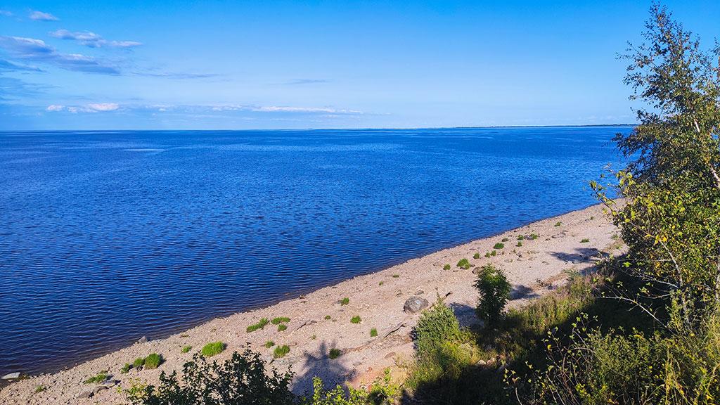 Озеро Ильмень под Великим Новгородом