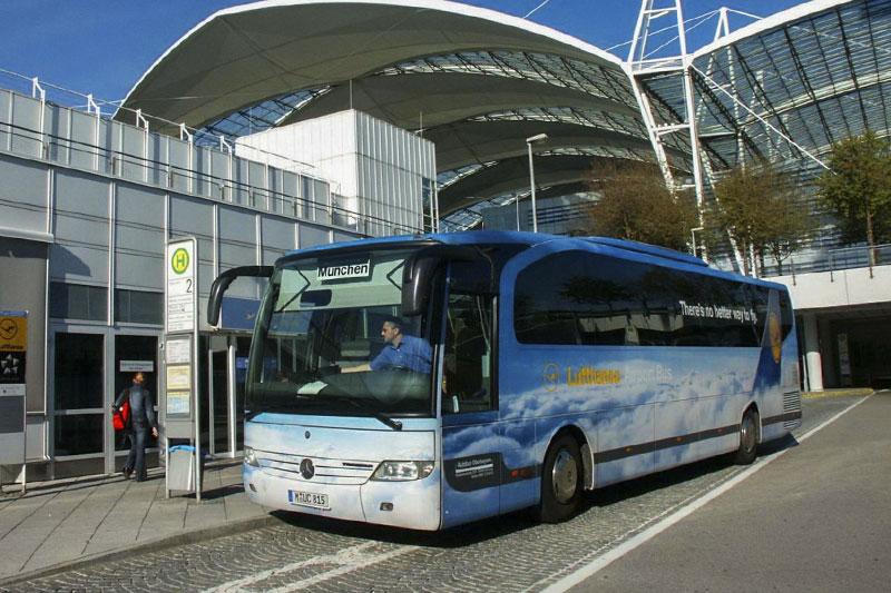 Как добраться от аэропорта Мюнхена до города