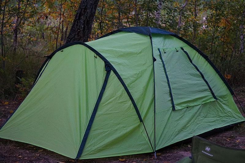палатка для отдыха на природе