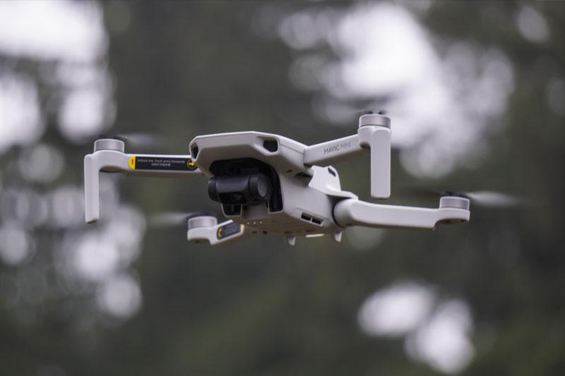 дрон для путешествий за границу