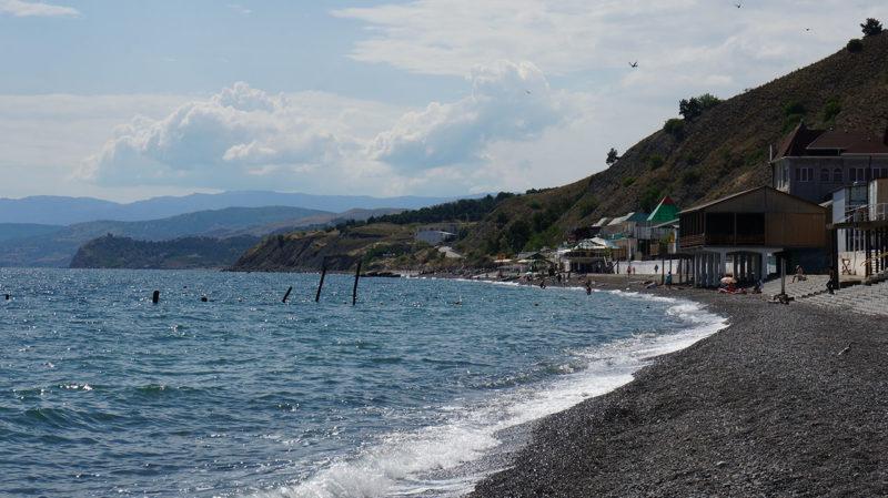 Поселок Морское в Крыму
