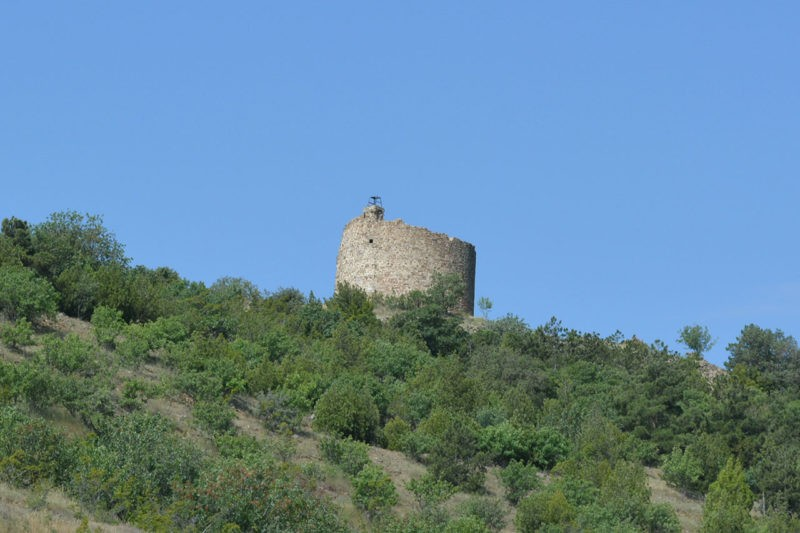 Башня Чобан-Кале в Крыму