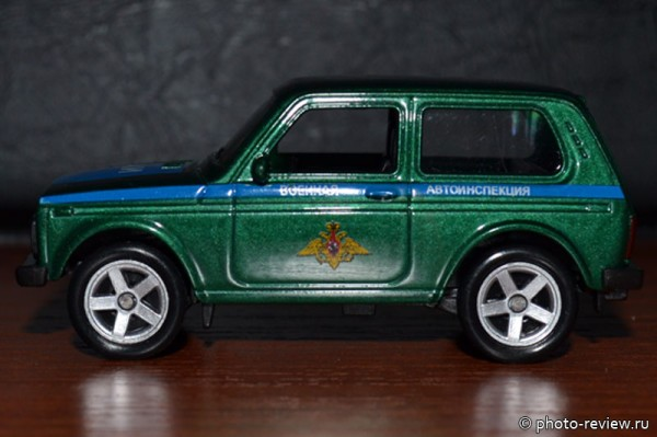 масщтабная модель Нива ВАЗ 2121