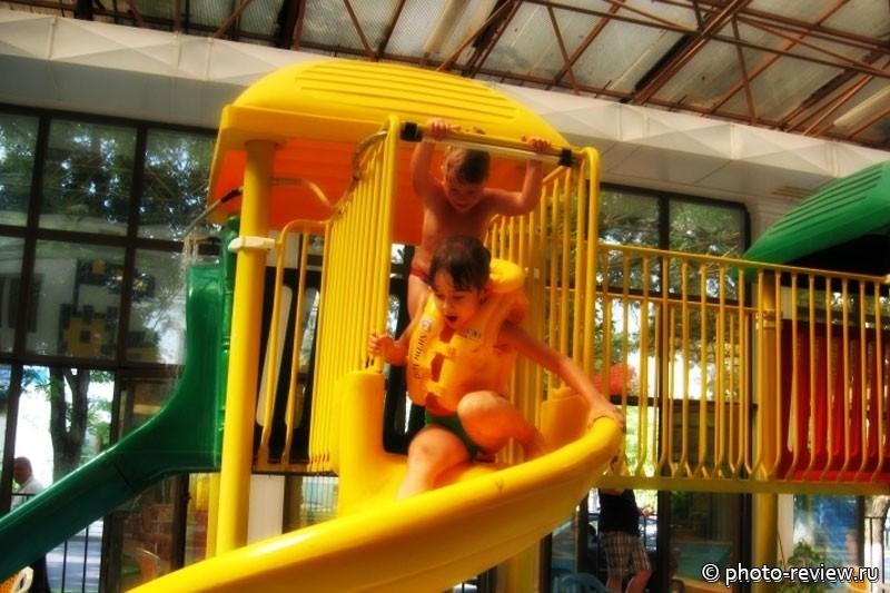 детский аквапарк осьминожка в анапе