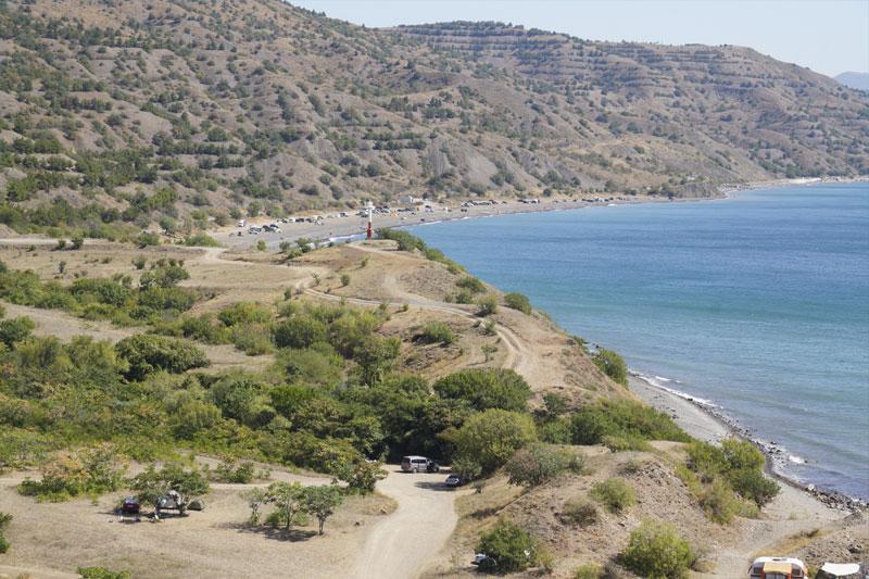 места отдыха с палатками в Крыму