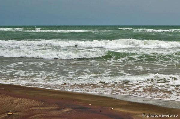 пляж на черном море