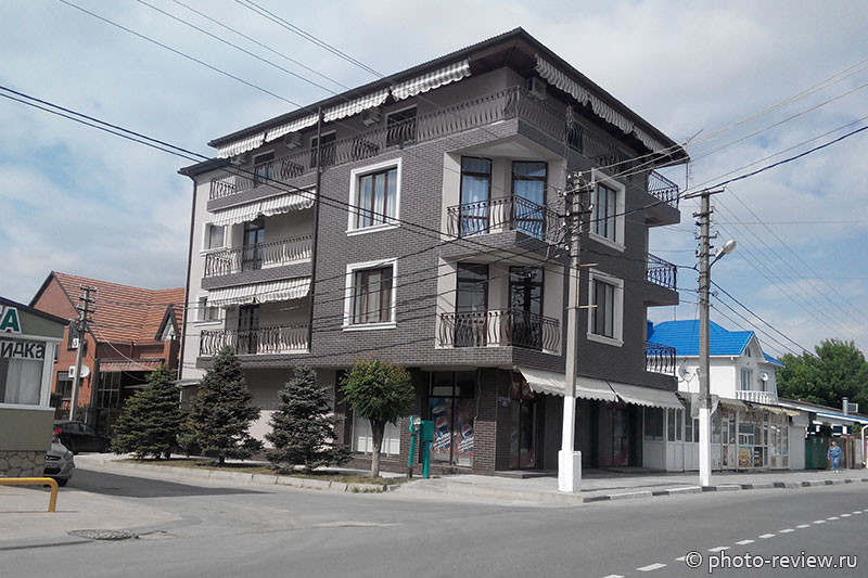 гостевой дом Паллада в Витязево