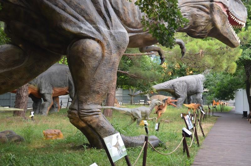 """""""Затерянный мир"""" парк динозавров геленджик"""