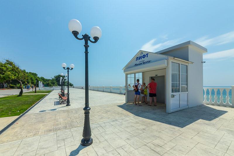 пляж для инвалидов в Анапе