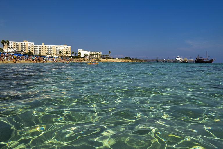 Море и пляжи Кипра