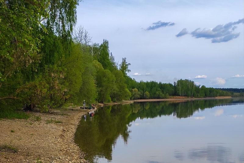 отдых на Рузском водохранилище