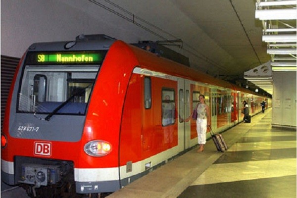 S Bahn городская электричка Мюнхена