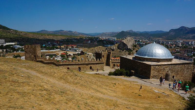Средневековая крепость в Судаке