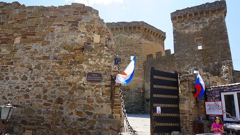 Как доехать до Генуэзской крепости