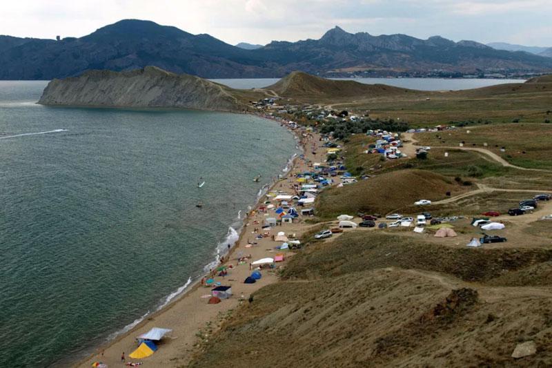 Дикий отдых в Крыму