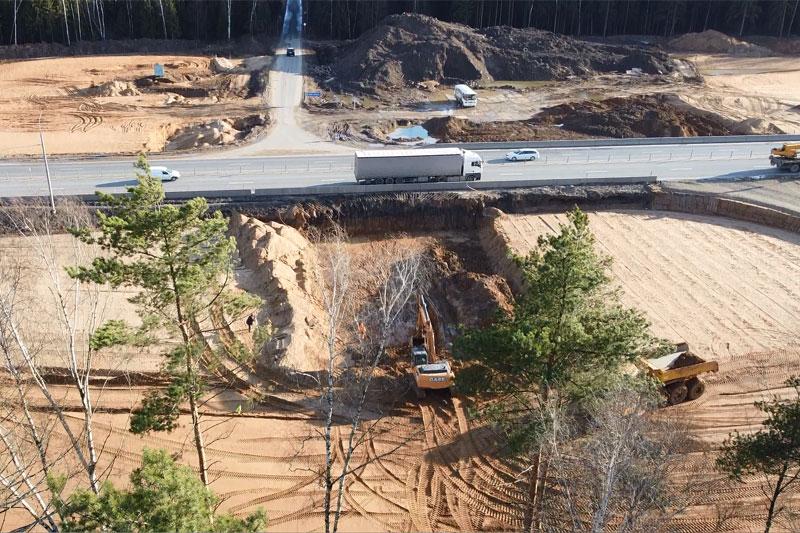 реконструкция трассы М1