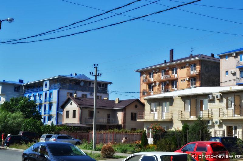Отели и гостевые дома Витязево