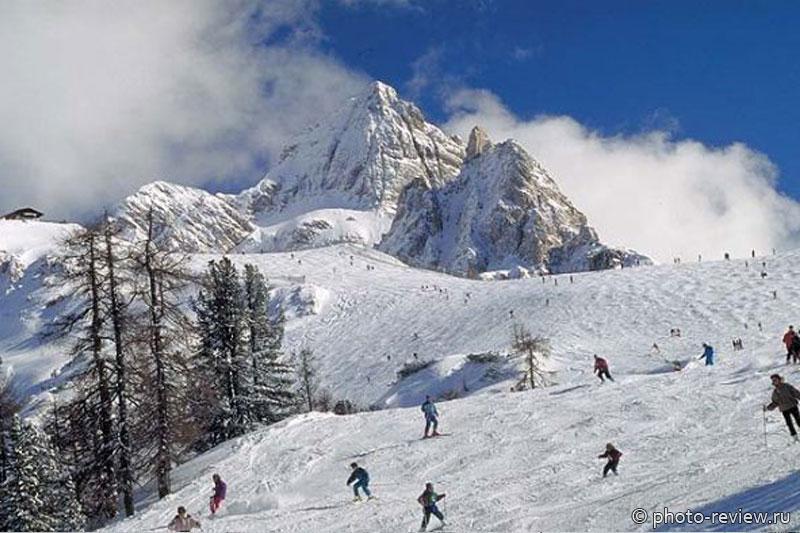 Итальянские горнолыжные курорты