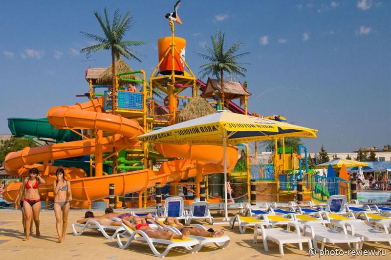 Золотой пляж в Анапе